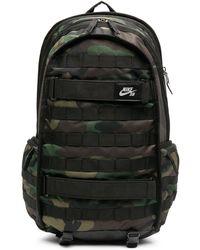 Nike Zaino camouflage - Verde