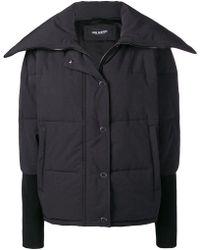 Neil Barrett - Fold Collar Padded Jacket - Lyst
