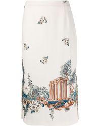 Vivetta - Fitted Silhouette Skirt - Lyst