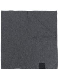 Canada Goose Wool Knit Scarf - Gray