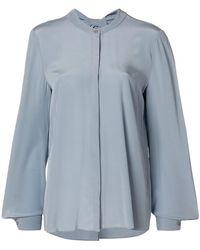 Dorothee Schumacher - Oversized Mandarin Collar Shirt - Lyst