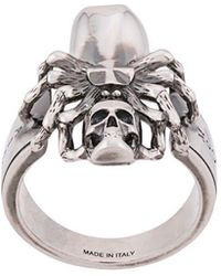 Alexander McQueen - Spider Motif Ring - Lyst