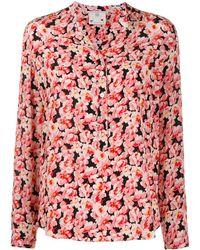 Stella McCartney Bluse mit Blumenmuster - Pink