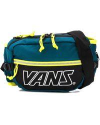 Vans カラーブロック ベルトバッグ - グリーン