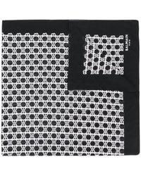 Balmain Monogram Scarf - Black