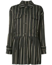 Uma Wang - Striped Jacket - Lyst