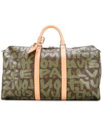 Louis Vuitton Сумка С Принтом 'keepall 50' - Многоцветный