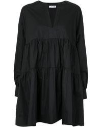 Anine Bing Ярусное Платье Addison - Черный