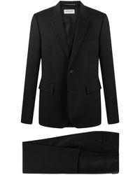 Saint Laurent スリムフィット スーツ - ブラック