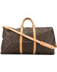 Louis Vuitton Keepall Tas - Meerkleurig