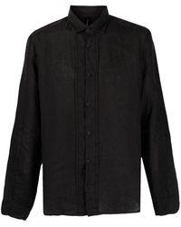 Transit リネンシャツ - ブラック