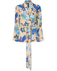 Romance Was Born - Electro Orchid Pyjama Top - Lyst