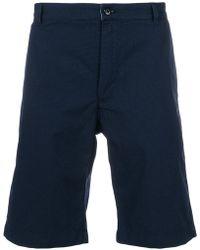 Bellerose - Checked Shorts - Lyst