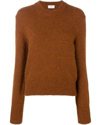 AMI Crew Neck Sweater - Brown