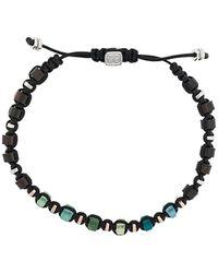 Tateossian Macrame Imperial Bracelet - Black