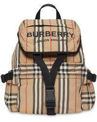Burberry Zaino Icon Stripe - Multicolore