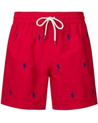 Polo Ralph Lauren - Short de bain à logo - Lyst