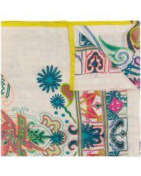 Etro Sjaal Met Print - Meerkleurig