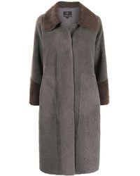 Unreal Fur Manteau Furever Chic texturé - Marron