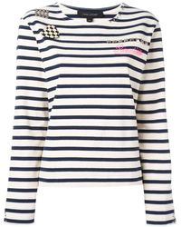 Marc Jacobs - Breton ボーダー柄 カットソー - Lyst