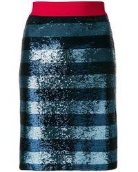 Pinko - Sequin Embellished Skirt - Lyst