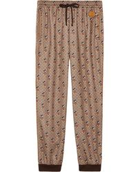 Gucci X Disney Mickey Mouse Track Pants - Brown