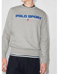 Polo Ralph Lauren - Толстовка С Круглым Вырезом И Логотипом - Lyst