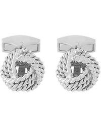Tateossian - Cable Knot Cufflinks - Lyst