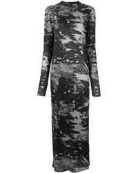 Strateas Carlucci ジャージー ドレス - ブラック