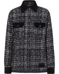 Dolce & Gabbana ツイードジャケット - ブラック