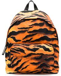 DSquared² Рюкзак С Тигровым Принтом - Оранжевый