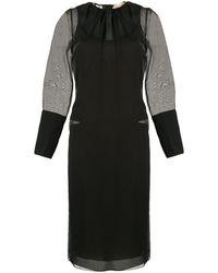 N°21 - シアーディテール ドレス - Lyst