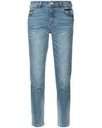 Loveless - Cropped Skinny Jeans - Lyst
