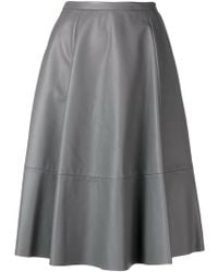 DROMe - Flared Skirt - Lyst