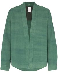 Visvim 'Lhamo' Hemdjacke - Grün