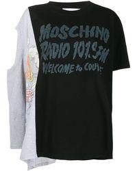 Moschino - レイヤード Tシャツ - Lyst