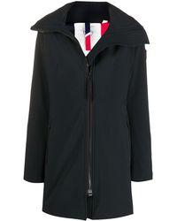 Rossignol Hyperplan Hooded Mid-length Coat - Black