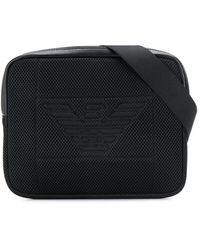 Emporio Armani Logo Belt Bag - Black