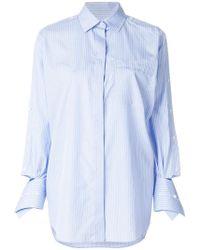 Valentino - Cotton Shirt - Lyst