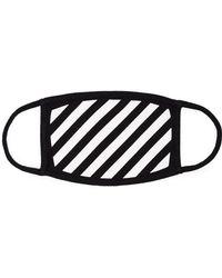 Off-White c/o Virgil Abloh - Masque à rayures diagonales - Lyst