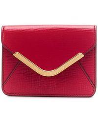 Anya Hindmarch Cartera Postbox mini - Rojo