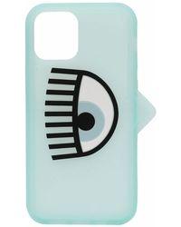 Chiara Ferragni ロゴ Iphone 12 Pro ケース - ブルー