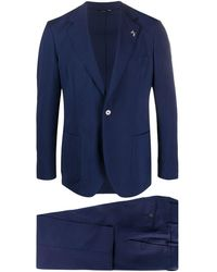 Tombolini Two-piece Formal Suit - Blue