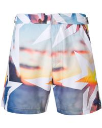 Perfect Moment Essential Resort Print Shorts - Multicolor