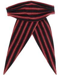 Ann Demeulemeester Bow Hair-tie - Black