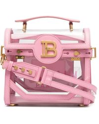 Balmain B-buzz 23 ハンドバッグ - ピンク