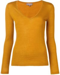 N.Peal Cashmere - Superfine V-neck Sweater - Lyst