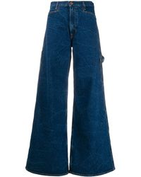 Aries Flared Style Jeans - Blue
