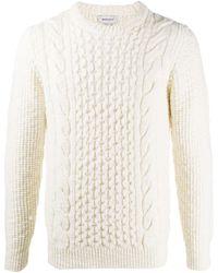 Woolrich ケーブルニット セーター - マルチカラー