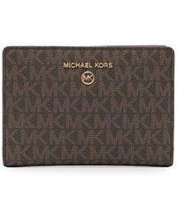 Michael Kors キャリーオール 財布 - ブラウン